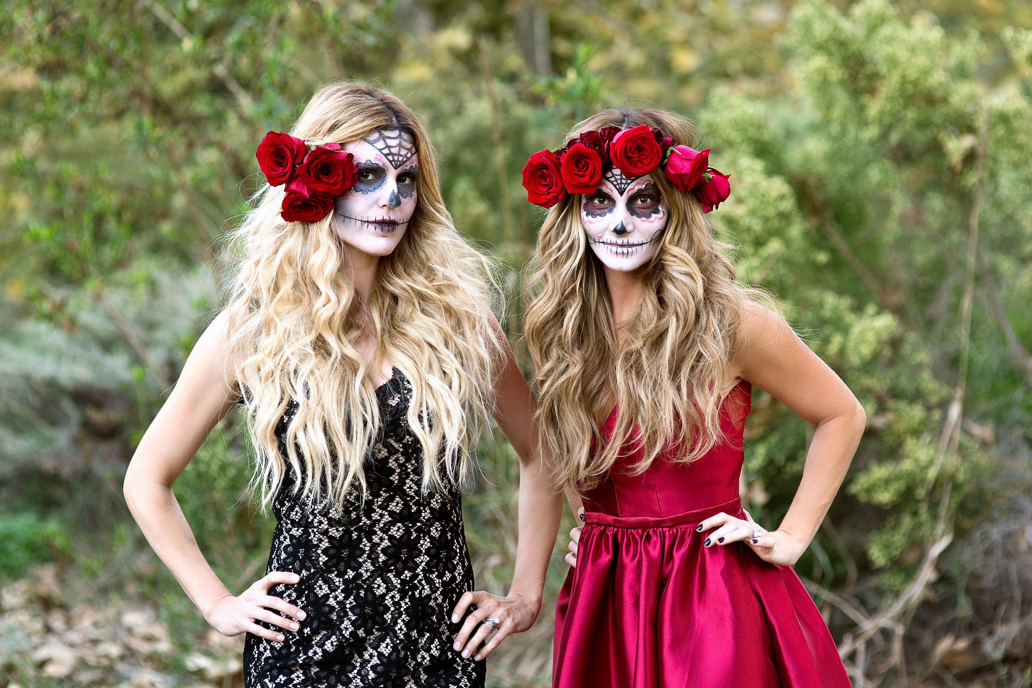 Day of the Dead Halloween Costume - Sapphire Diaries