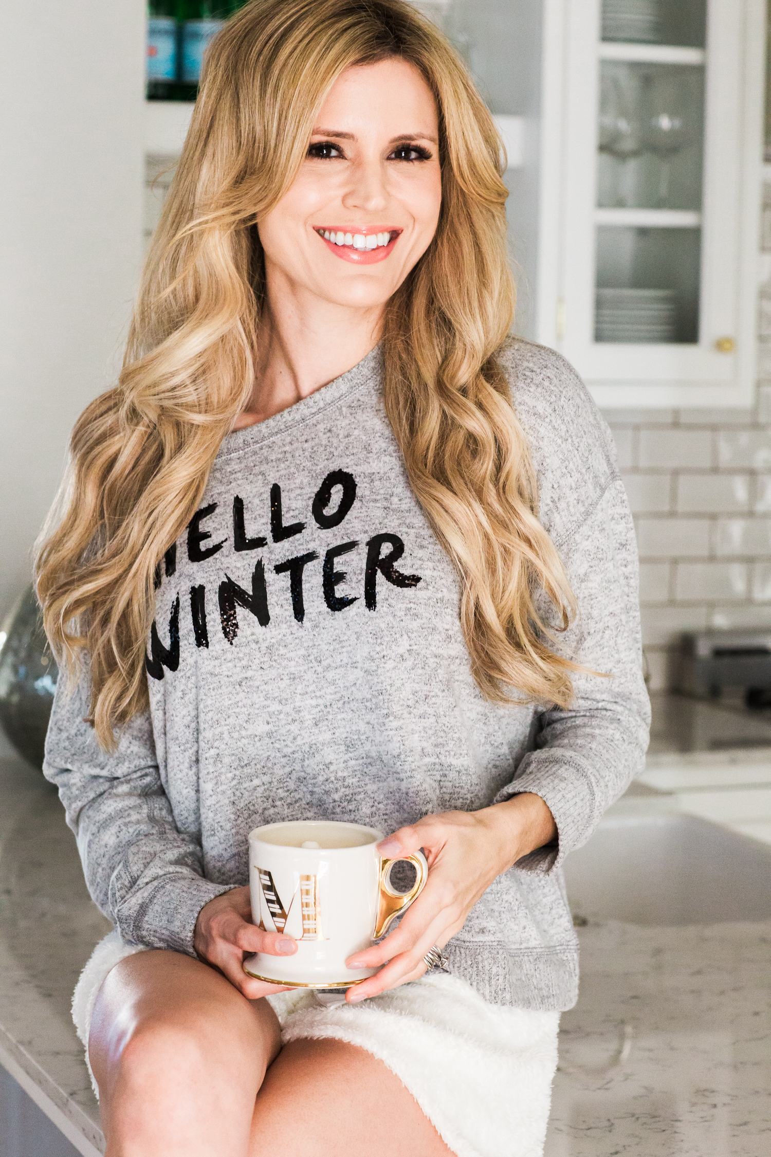 Abercrombie Fitch Hello Winter Sweatshirt