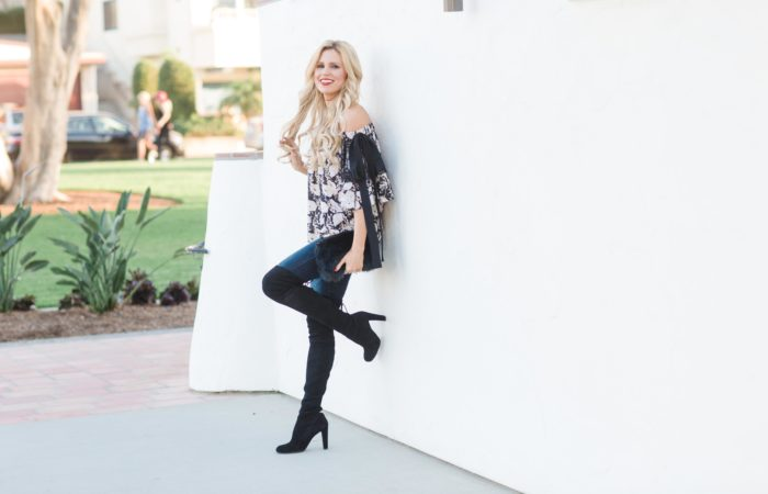 Fall Staple: Over the Knee Boots