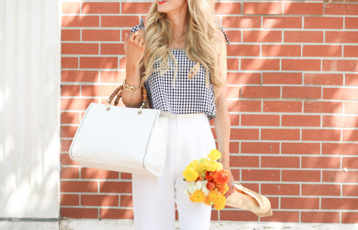 White Handbag for Spring