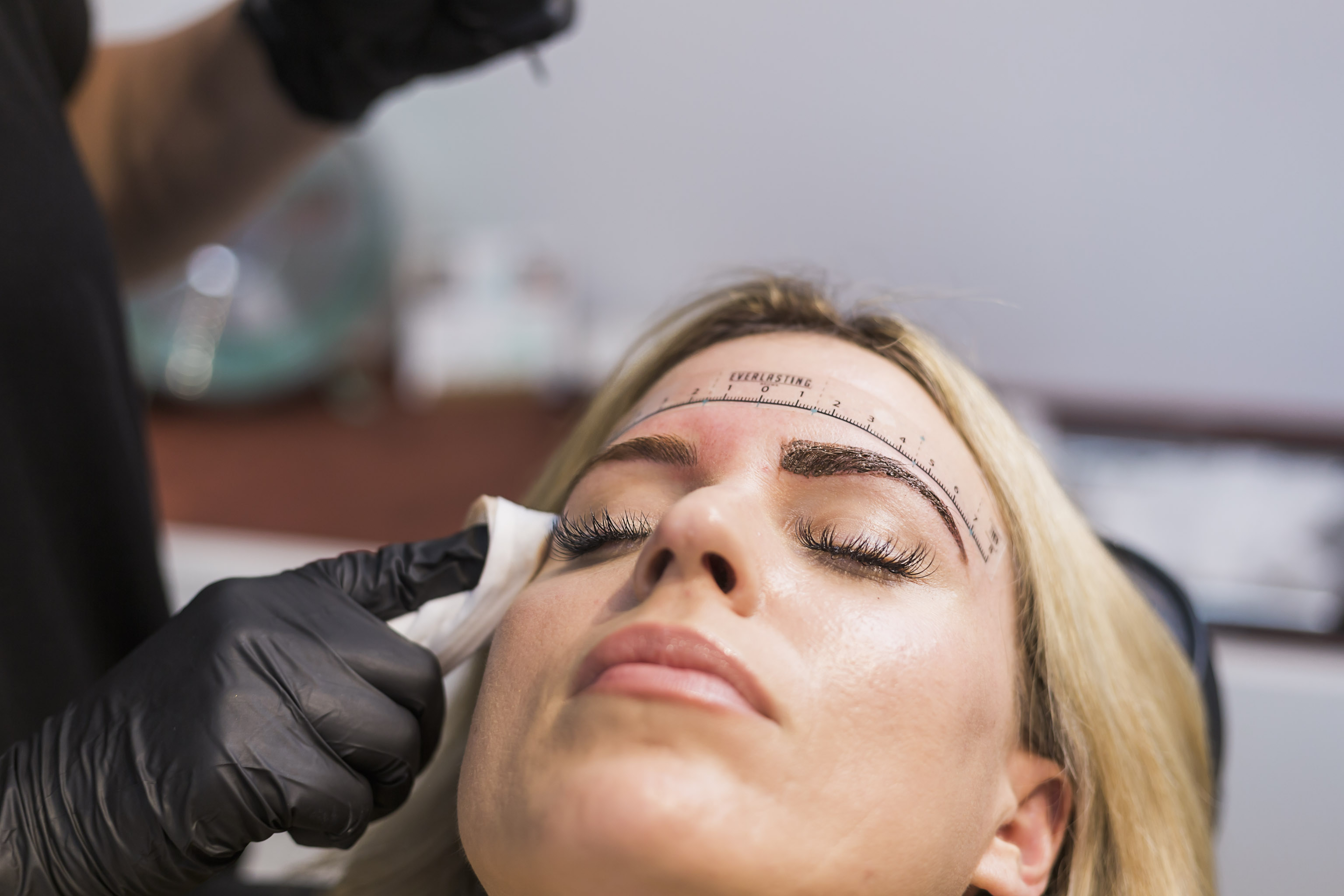 microblading Orange County natural brows