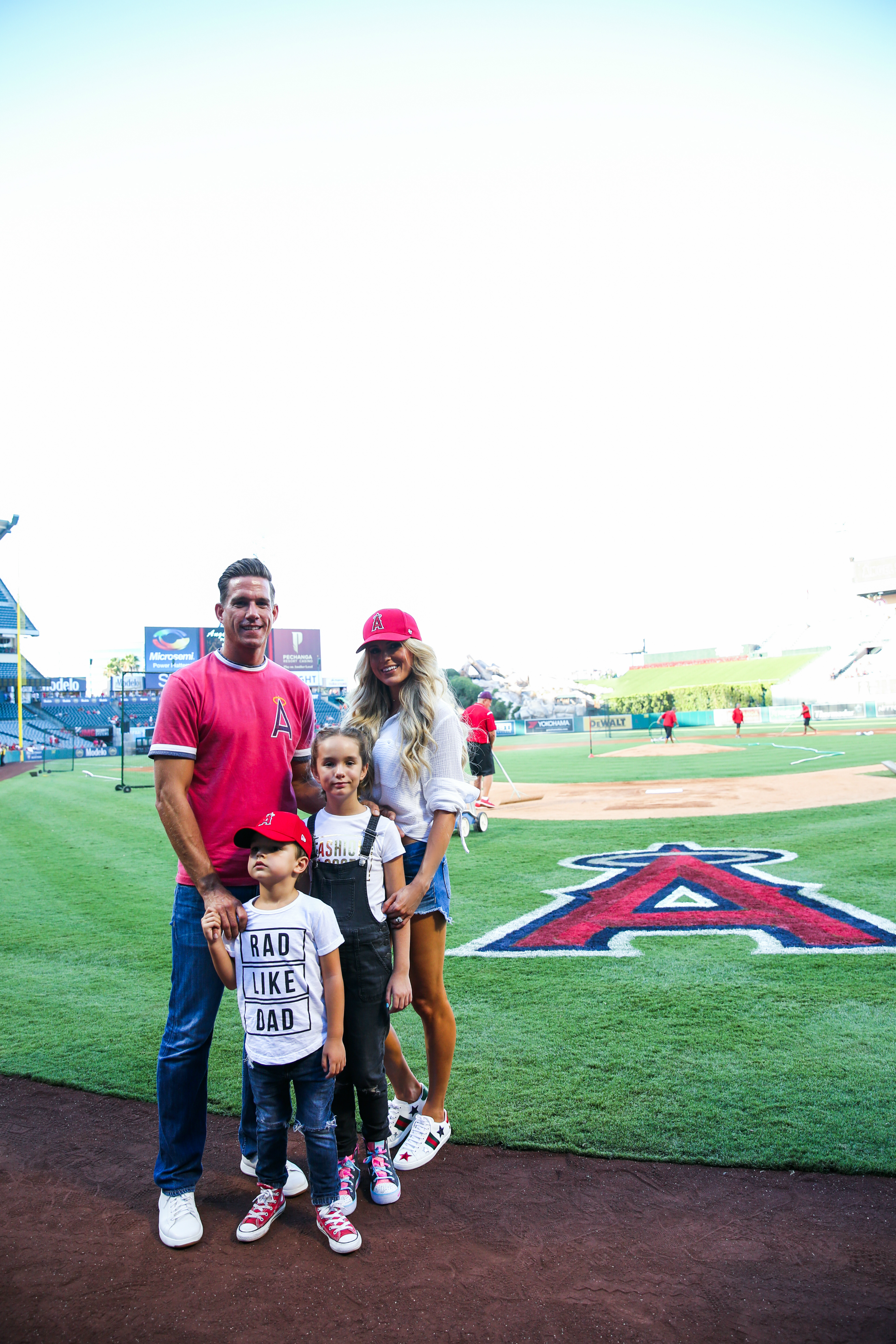 Family Date Night at the Angels Game