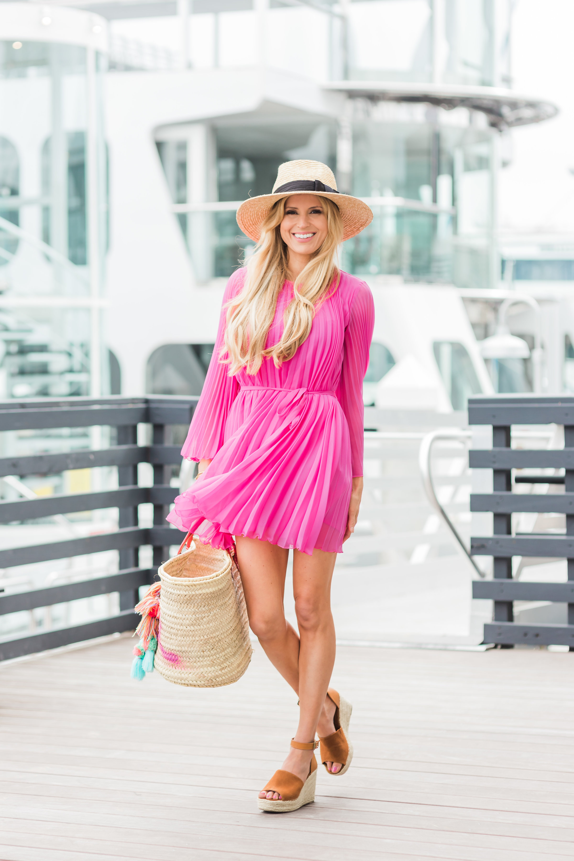 50e016bd468 ASOS flutter sleeve pleated mini dress pink. ASOS flutter sleeve pleated  mini dress pink. Chloe Espadrille Dupes